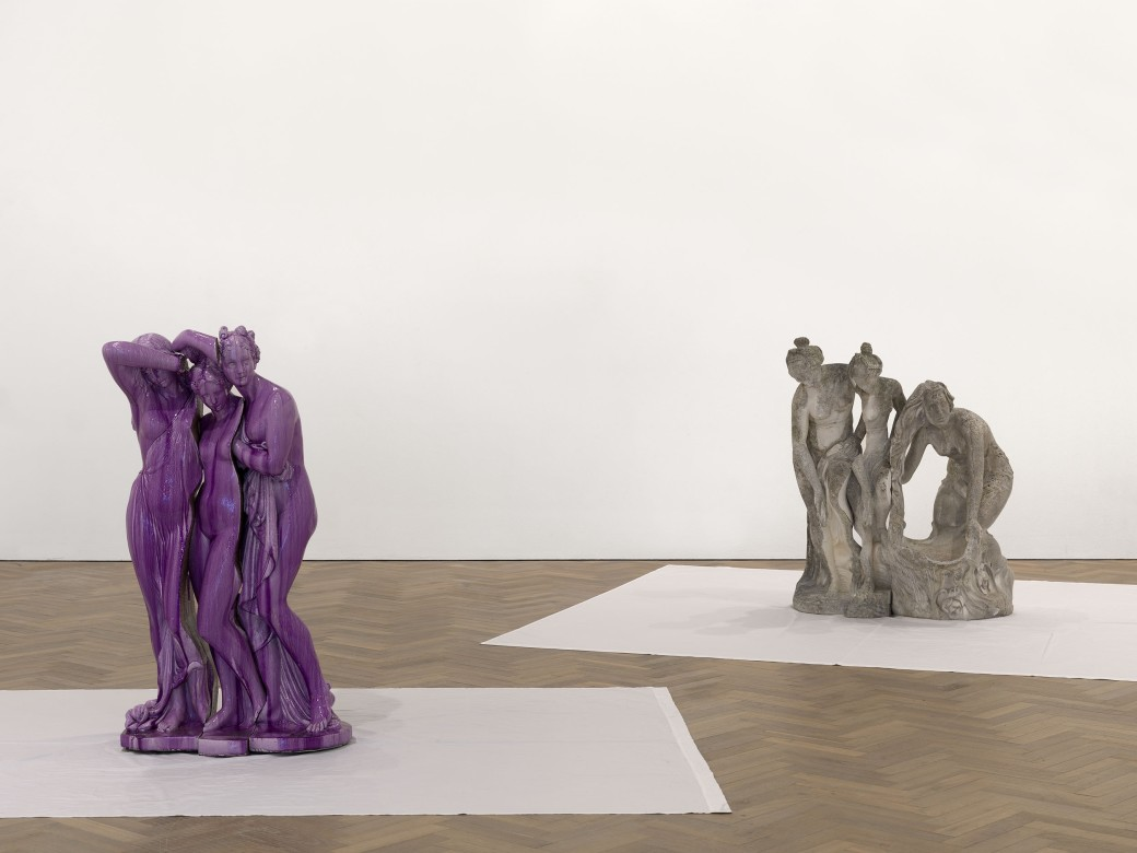 Installation view, Thomas Dane Gallery, London