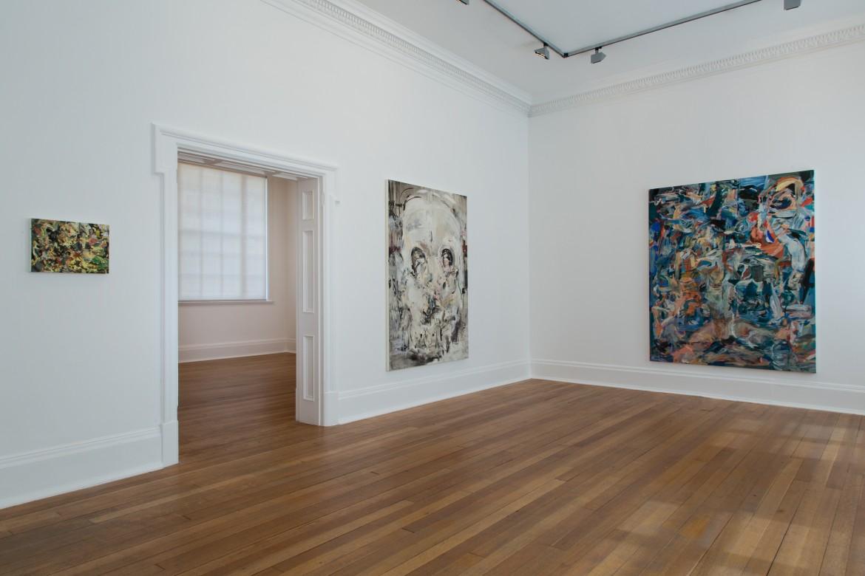 Installation view, Thomas Dane Gallery, London
