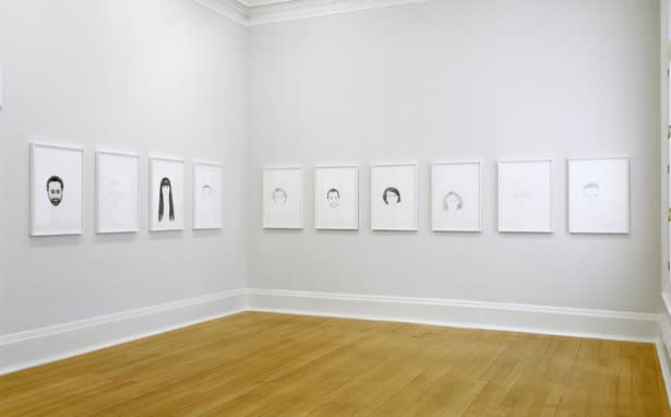 Installation view, Thomas Dane Gallery