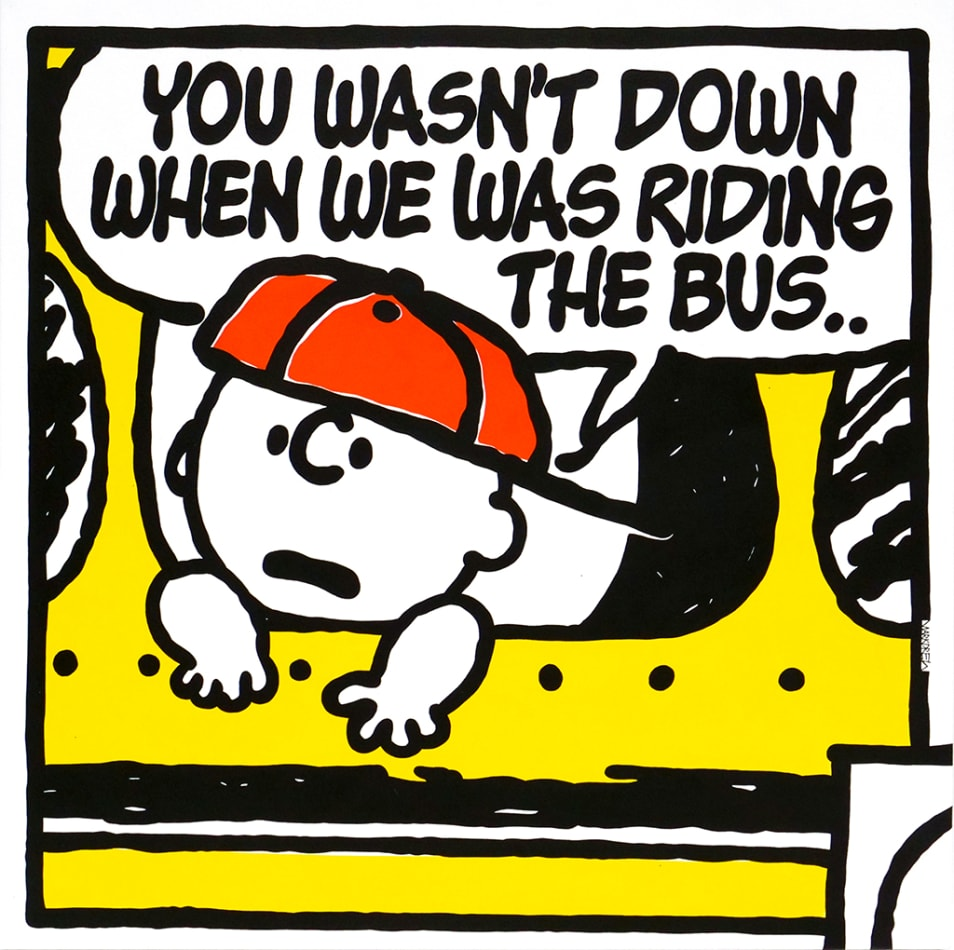 Mark Drew, The Bus (Ed O.G.), 2018