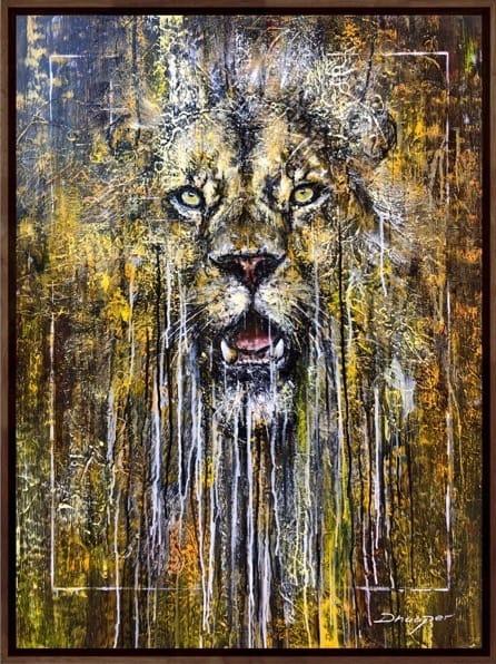 Daniel Hooper, Lion, 2020