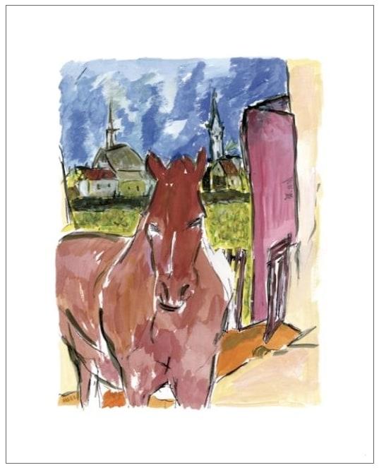 Bob Dylan, Horse, 2010