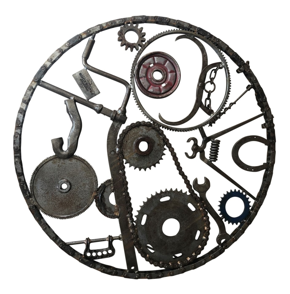Bob Dylan, Iron Wall Hanging III (Large Circular Chain) , 2013 - CALL FOR PRICE