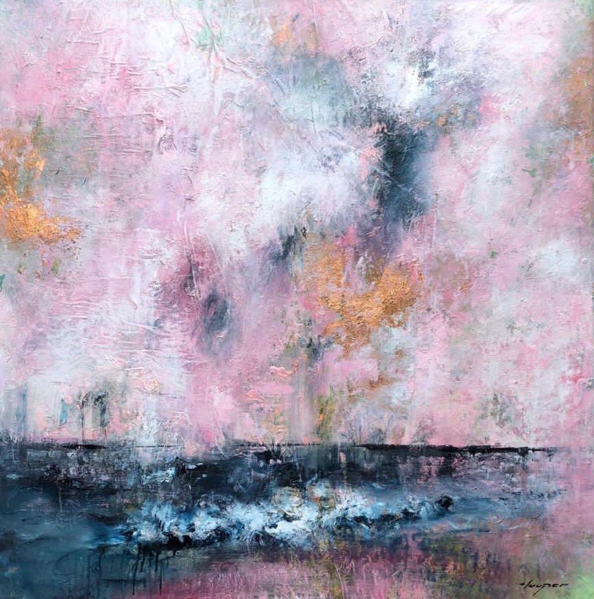 Daniel Hooper, Solent Sky (pink), 2020