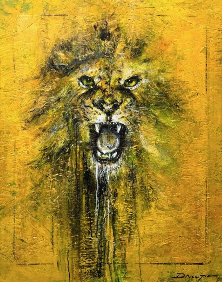 Daniel Hooper, Golden Lion, 2020