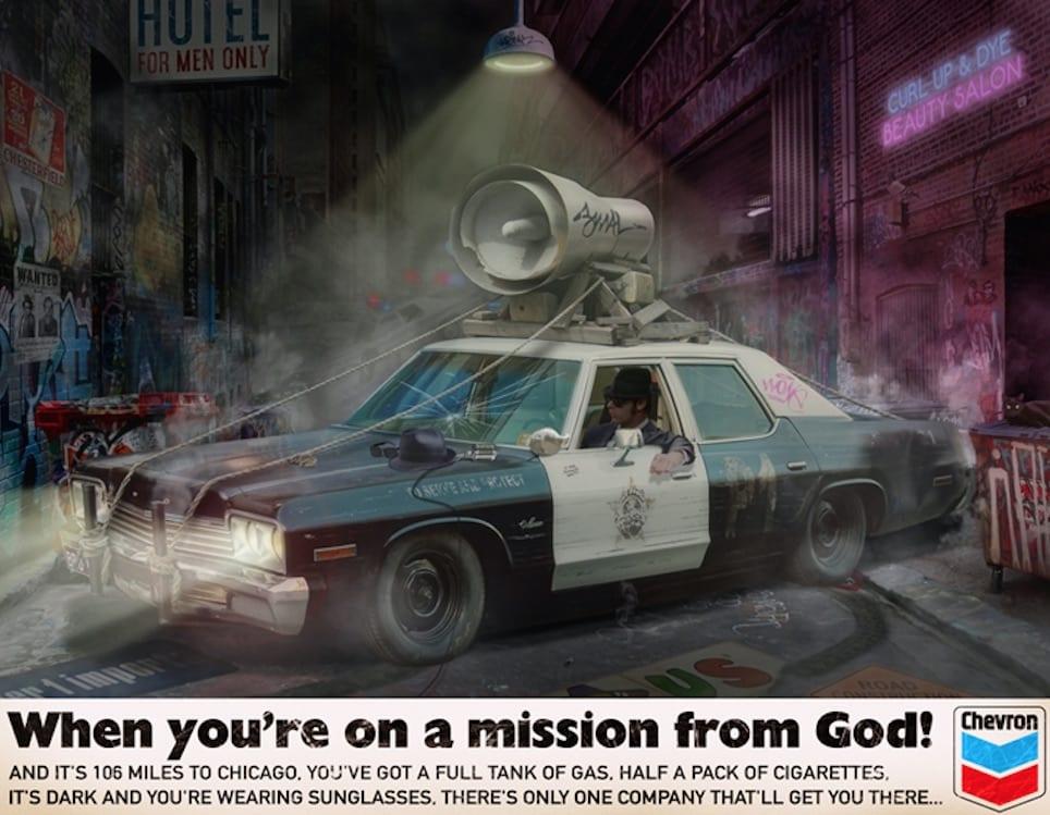 JJ Adams, Mission From God