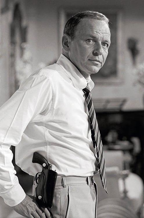 Terry O'Neill, Frank Sinatra with Gun, 1968