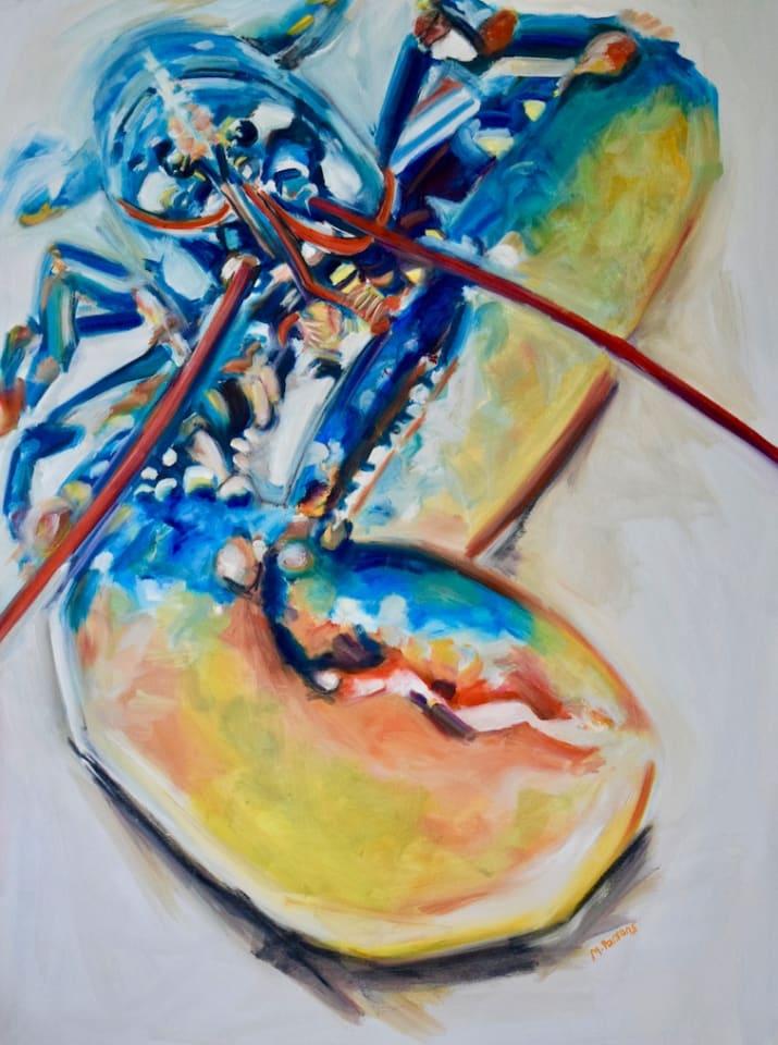 Michelle Parsons, OYL - Orange Yellow Lobster, 2020