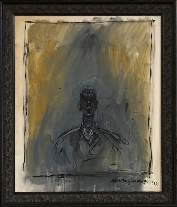 John Myatt, Portrait of Diego - original, 2009