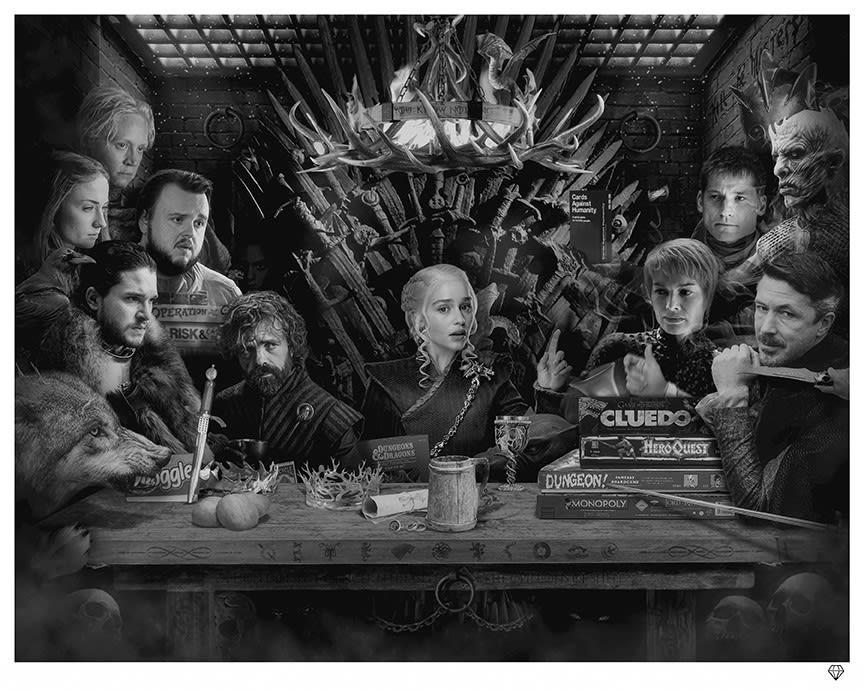 JJ Adams, Board-Game of Thrones - Colour - SALE