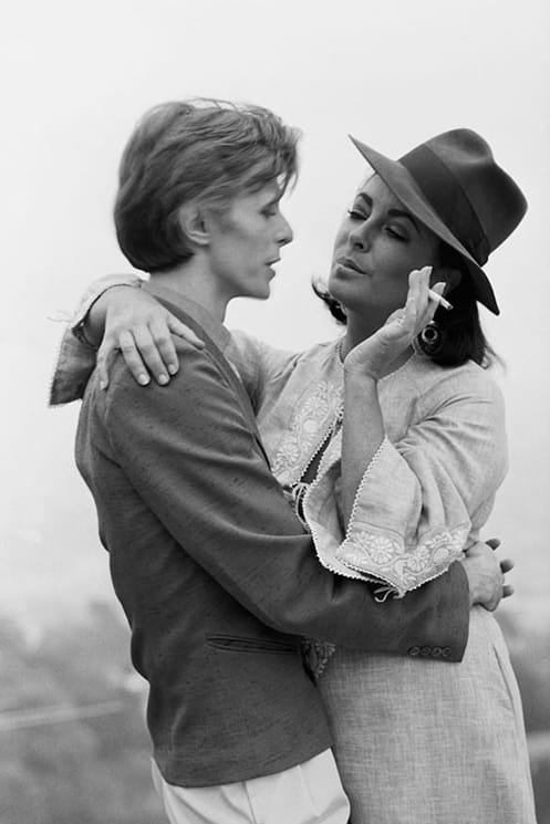 Terry O'Neill, Bowie And Taylor, 1975
