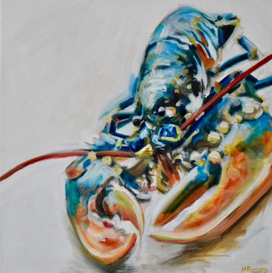 Michelle Parsons, SLW - Square Whole Lobster,, 2020