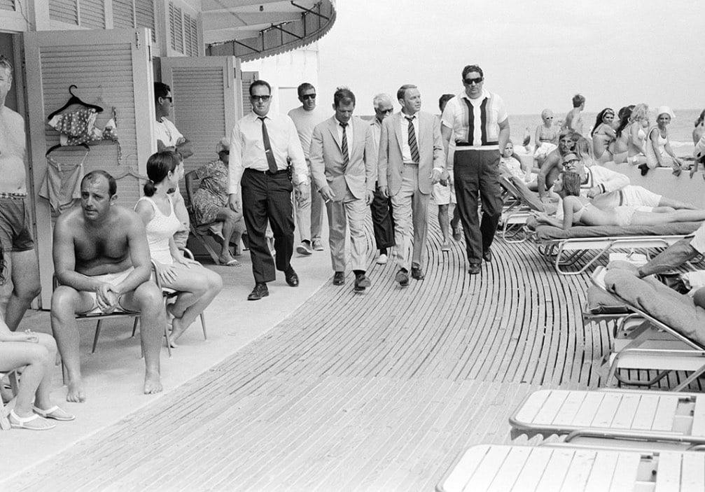 Terry O'Neill, Frank Sinatra (view 2), 1968