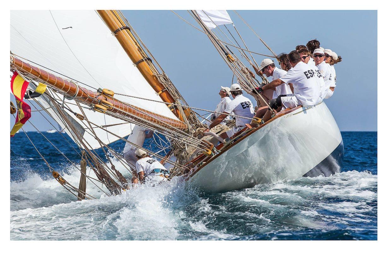 Ian Roman, Hispania, St Tropez, 2012 - 40x60 inches