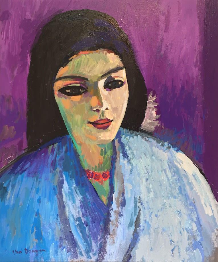 John Myatt, Portrait of a Girl - Original