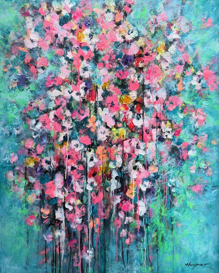 Daniel Hooper, Wilder Flowers 120cm, 2020