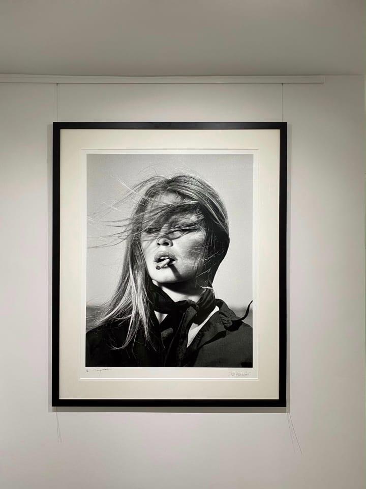 Terry O'Neill, Brigitte Bardot. - co-signed print, 1971
