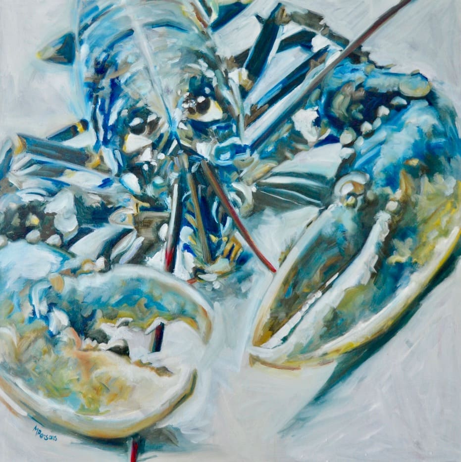 Michelle Parsons, BBL - Blue Brown Lobster, 2020