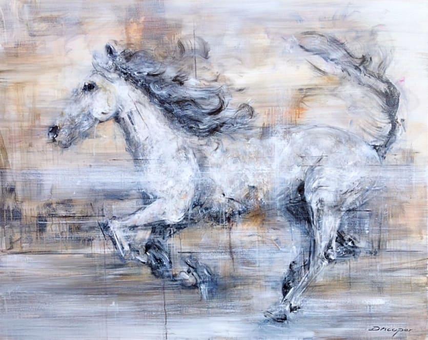 Daniel Hooper, The White Horse, 2019