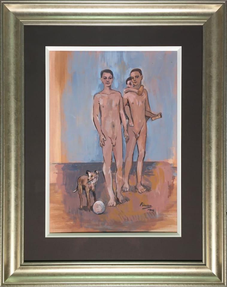 John Myatt, Three Boys - Original