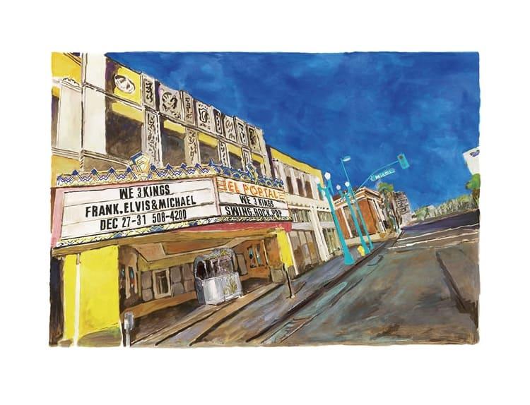 Bob Dylan, East L.A, Side Street, 2016