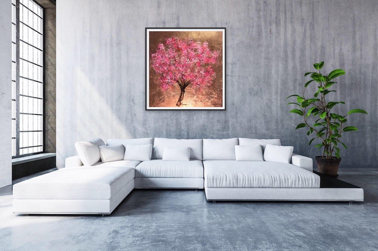 Daniel Hooper, Blossom (Copper leaf), 2018
