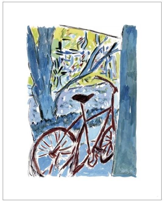 Bob Dylan, Bicycle, 2010