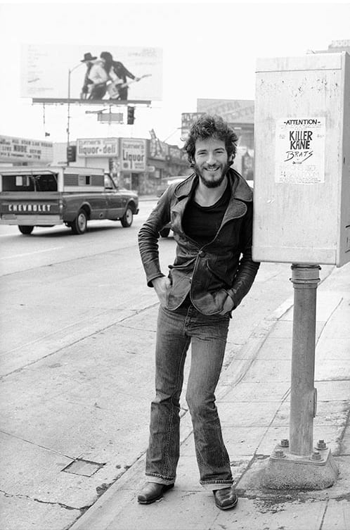 Terry O'Neill, Springsteen On The Street, 1975