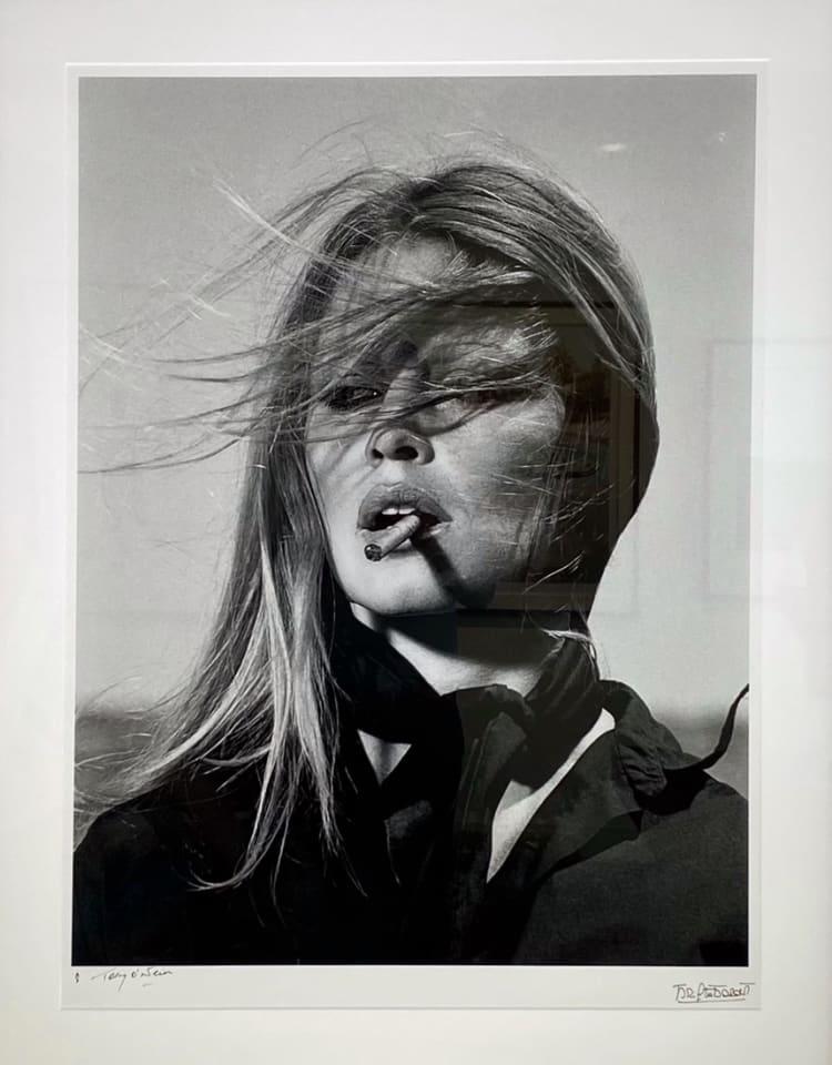 Terry O'Neill, Brigitte Bardot - co-signed print, 1971