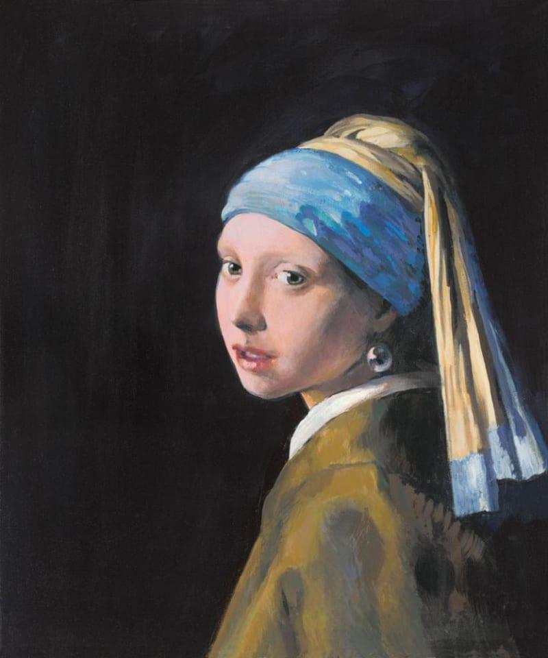 John Myatt, Girl With a Pearl Earring, 2012