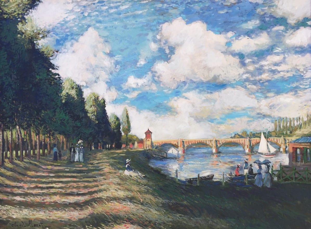 John Myatt, The Seine At Argenteuil - Original