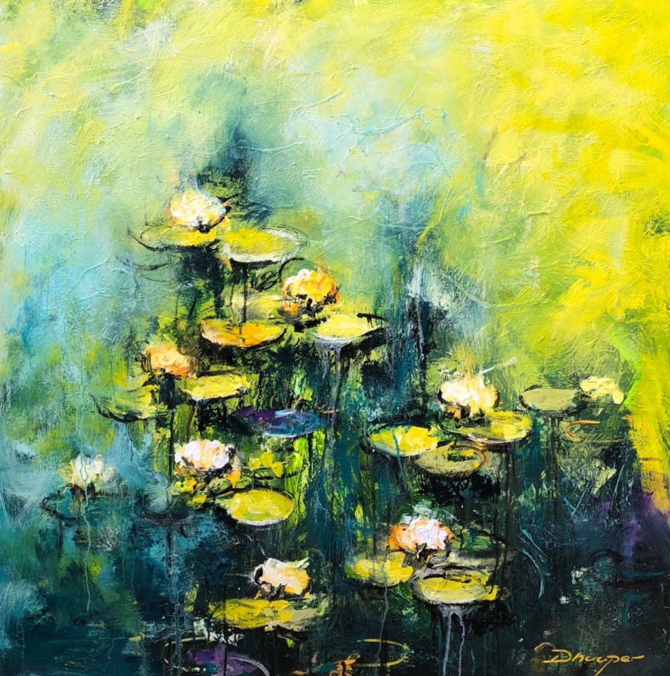 Daniel Hooper, Yellow Lotus, 2020