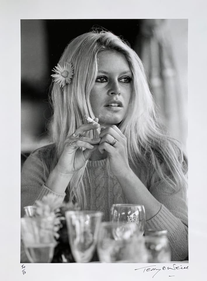 Terry O'Neill, Brigitte Bardot, Deauville, 1968 - Edition 50/50