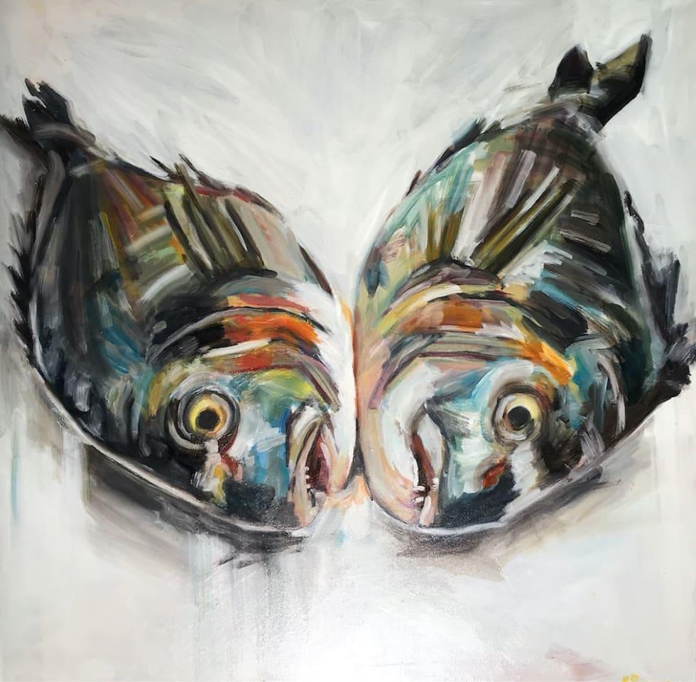 Michelle Parsons, Twin Fish, 2018