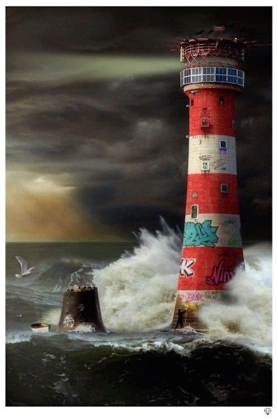 JJ Adams, Eddystone Lighthouse