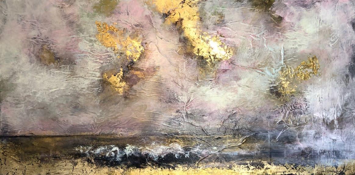 Daniel Hooper, Sky of Gold, 2021