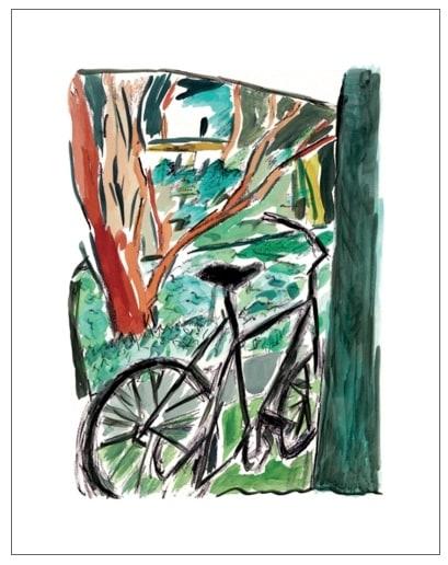 Bob Dylan, Bicycle (medium format), 2013