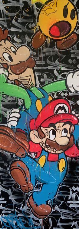 Opake One, Mario, 2020