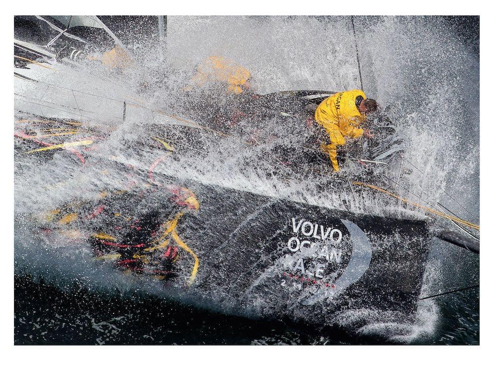 Ian Roman, Volvo 70 Azzam, Lorient, 2012 - 30x40 inches