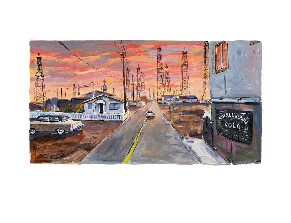 Bob Dylan, Oil Rigger's Shack, 2017