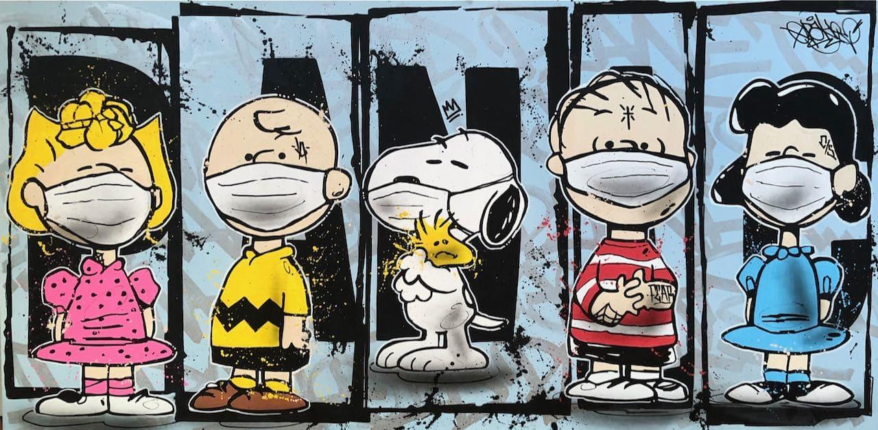 Opake One, Peanuts Panic, 2020