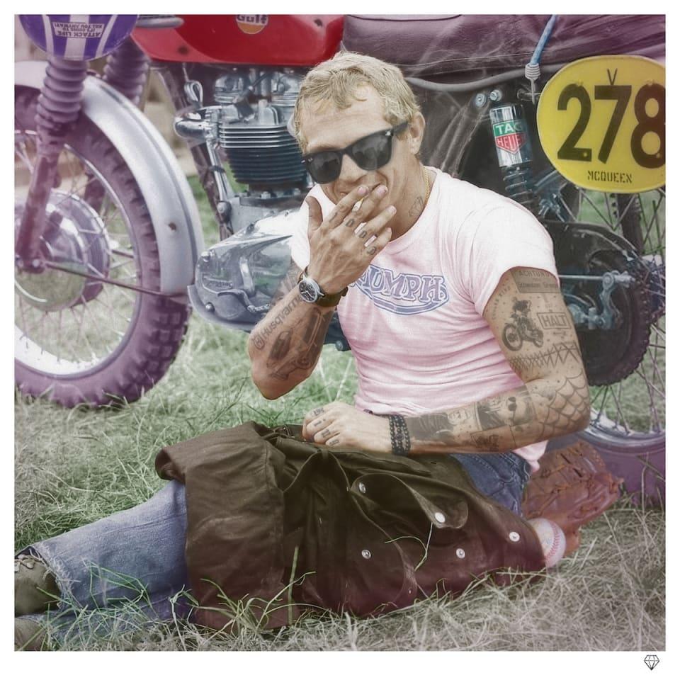 JJ Adams, Cooler King II (Steve McQueen Colour), 2020