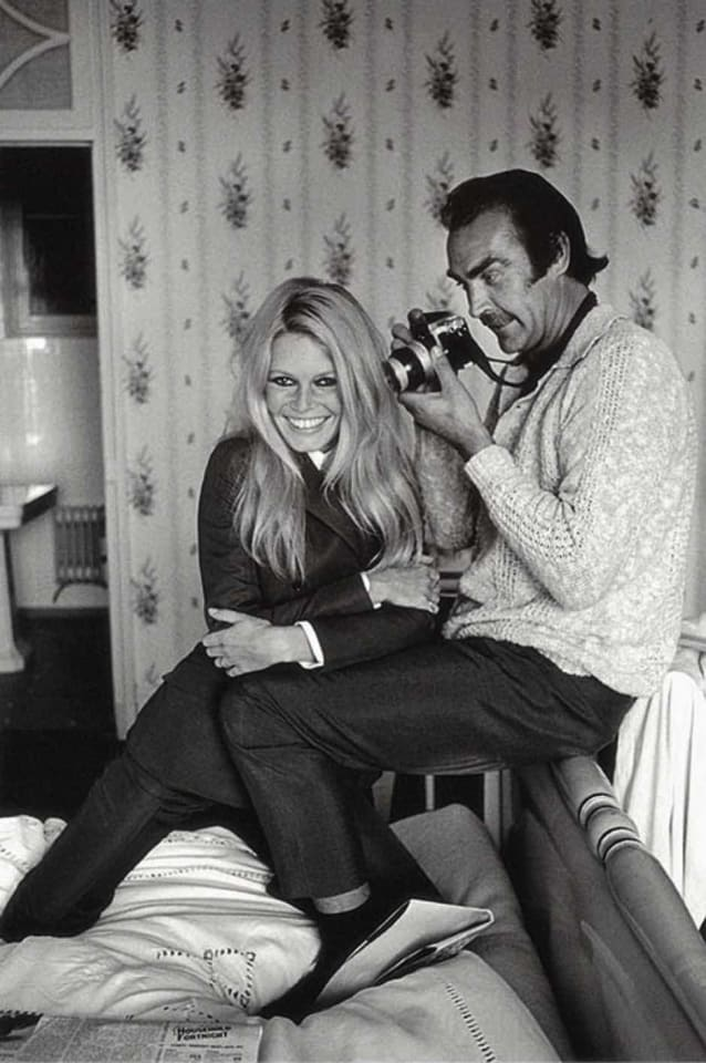 Terry O'Neill, Bardot And Connery , 1968