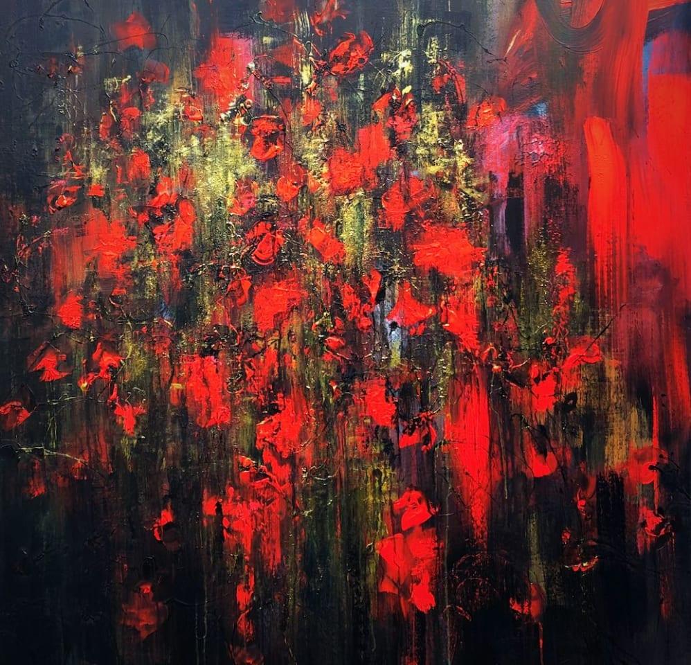 Daniel Hooper, Roses Are Red , 2020