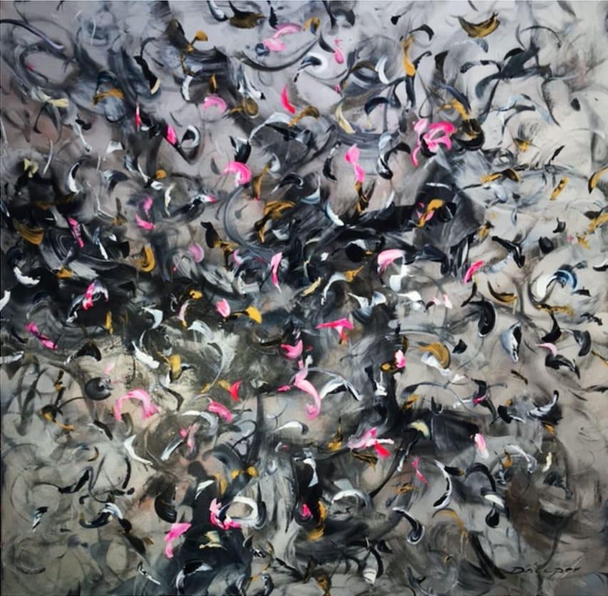 Daniel Hooper, Flamingos Storm, 2018