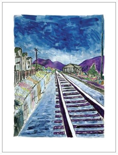 Bob Dylan, Train Tracks (large format), 2013