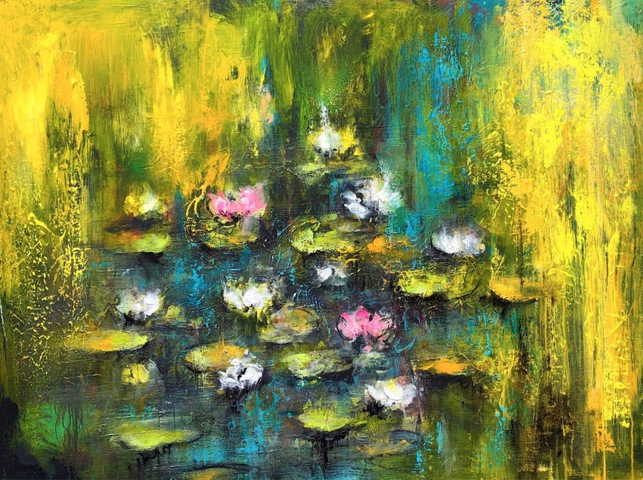 Daniel Hooper, Lilies Under The Willow, 2020