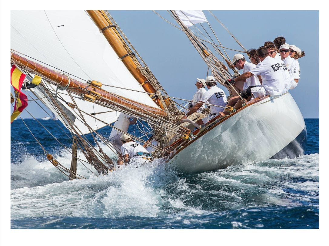 Ian Roman, Hispania, St Tropez, 2012 - 30x40 inches