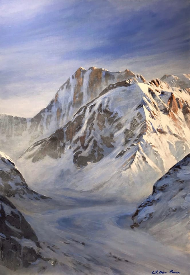 William Thomas, Mer de Glace, 2019