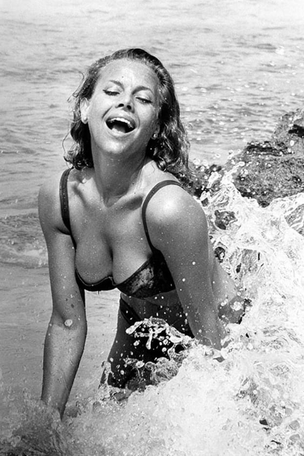 Terry O'Neill, Honor Blackman, 1964